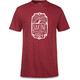 Dakine Head Tube S/S Tech T Men Heather Burgundy